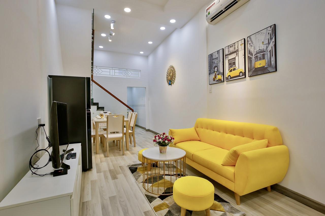 Cho thuê căn hộ Useful, ngay TT sầm uất, nhà mới, view đẹp, thoáng mát
