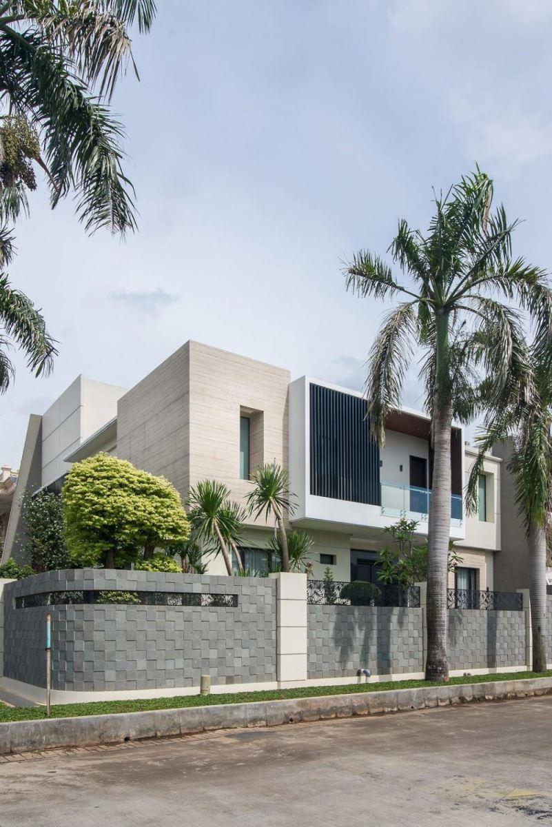 Mẫu thiết kế nhà 2 tầng tránh nắng nóng đẹp và hiệu quả